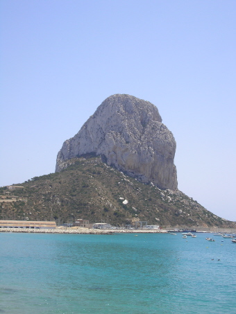 The Penon de Ifach Calpe